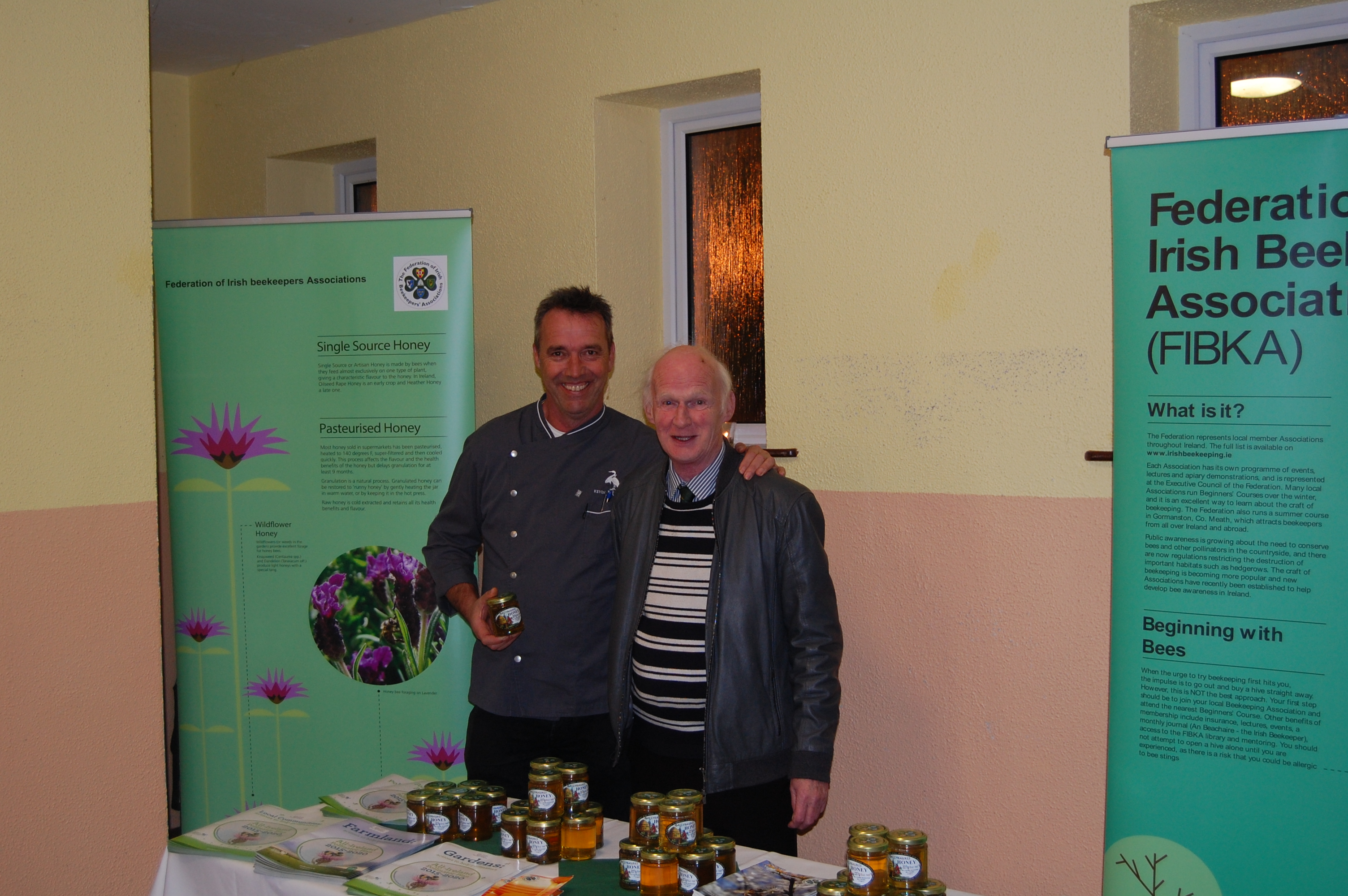 Kevin Dundon and FIBKA PRO Ken Norton at Milltown GAA