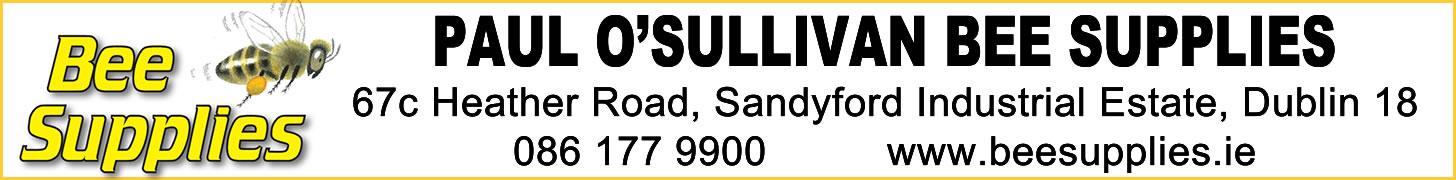 Paul O'Sullivan Bee Supplies