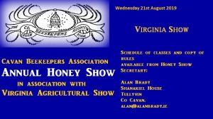 Cavan Annual Honey Show 2019