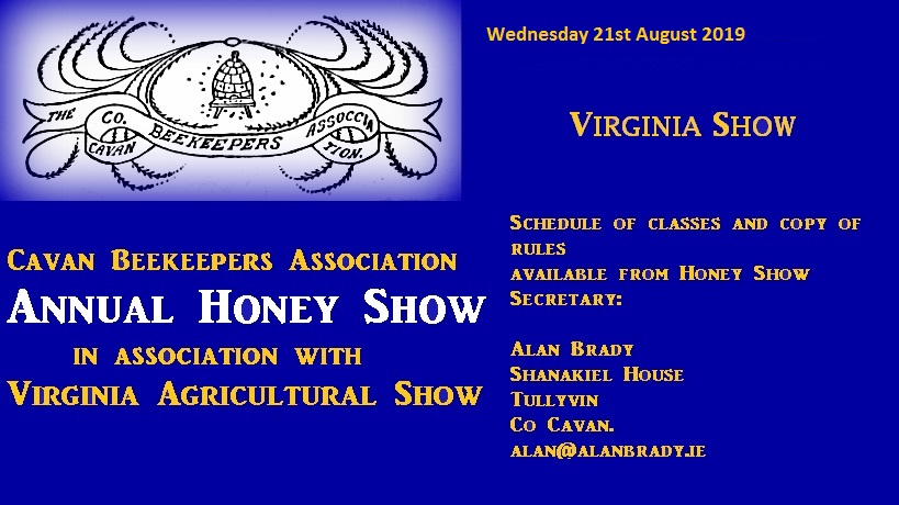 Cavan Annual Honey Show 2019
