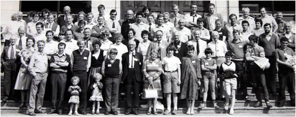 FIBKA Beekeeping Summer School in Gormanston College in 1946
